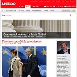 Cherix, François, Blog Politique Européenne