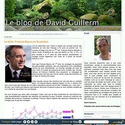 Le déclic, François Bayrou en 3e position