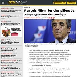 François Fillon : les cinq piliers de son programme économique