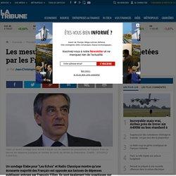 Les mesures-chocs de François Fillon rejetées par les Français