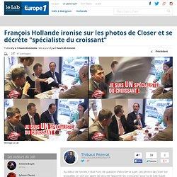"""François Hollande ironise sur les photos de Closer et se décrète """"spécialiste..."""
