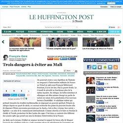 François Géré: Trois dangers à éviter au Mali