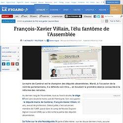 Politique : François-Xavier Villain, l'élu fantôme de l'Assemblée
