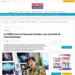 Le CNRS honore Françoise Combes, une sommité de l'astrophysique