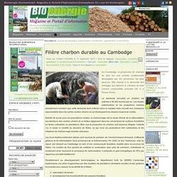 Bioenergie - Filière charbon durable au Cambodge