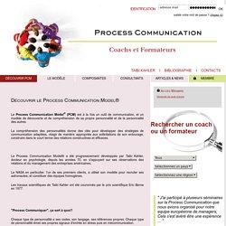 PCM Francophone - Le Process Communication Model®