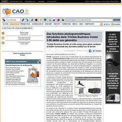 portail francophone CAO.fr - communiqués des acteurs