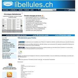 150 extensions pour Firefox - Portail francophone d'informatique
