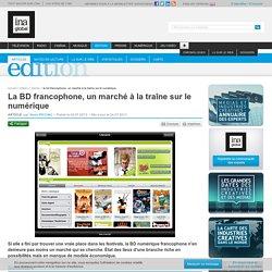 La BD francophone, un marché à la traîne sur le numérique