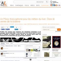 Un Mooc francophone pour les métiers du livre : Dans le ventre de la baleine