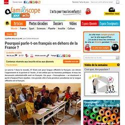 La francophonie expliquée aux enfants1jour1actu