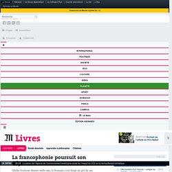La francophonie poursuit son odyssée