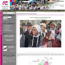 Le Francoprovençal / Evénements passés / Se divertir / Accueil - Commune de Reignier-Esery