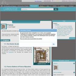 Francs en latin Franci