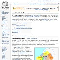 Francs rhénans