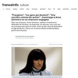 """""""Frangines"""", """"Les gens qui doutent"""", """"Une sorcière comme les autres"""" : hommage à Anne Sylvestre en six chansons engagées"""