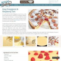 Easy Frangipane & Raspberry Tart