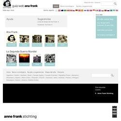 Guía web Ana Frank - Banco de fuentes única en línea para alumnos europeos