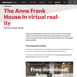 The Anne Frank House in virtual reality