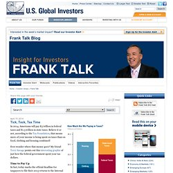 Frank Talk - Insight for investors