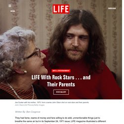 Rock Stars and Their Parents - Photo Gallery