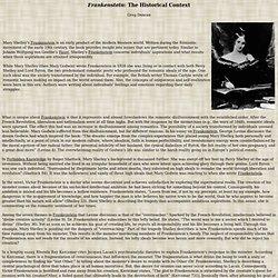 Frankenstein Commentary
