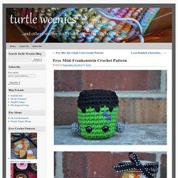 Free Mini Frankenstein Crochet Pattern