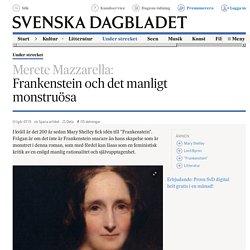 Frankenstein och det manligt monstruösa