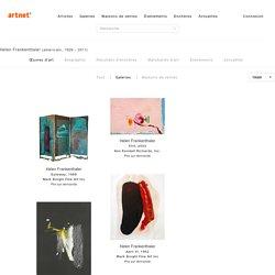 Helen Frankenthaler Œuvres d'art – Helen Frankenthaler sur artnet