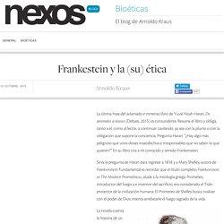 Frankestein y la (su) ética
