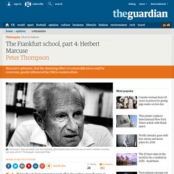 The Frankfurt school, part 4: Herbert Marcuse