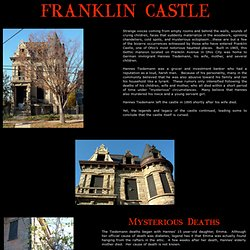 (2) Franklin Castle