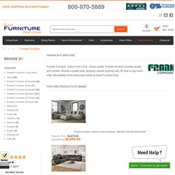 Franklin Furniture Accessories for Sale - Great Furniture Deal
