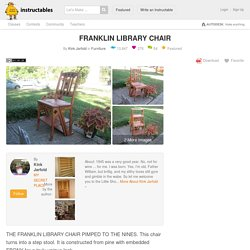FRANKLIN LIBRARY CHAIR: 10 Steps