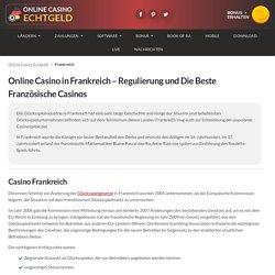Online Casino Frankreich - Die Beste Französische Casinos in 2020