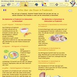 Frankreich für Kinder - Restaurant - Infos über Essen und Trinken - Kinderreporter