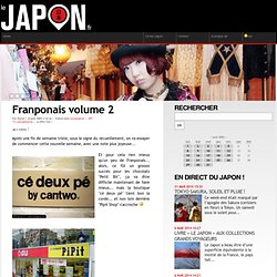 Franponais volume 2 - Blog photos du Japon - voir le Japon autrement !