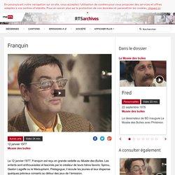 Franquin - rts.ch - Musée des bulles
