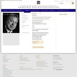 Franses, Prof. dr. Ph.H.B.F. (Philip Hans)