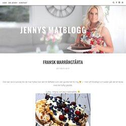 Fransk marrängtårta - Jennys Matblogg