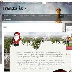 Franska åk 7: Noël