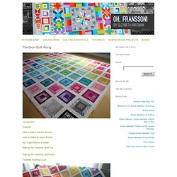 Paintbox Quilt Along