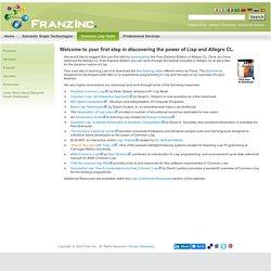 Franz Inc: Introduction to Lisp