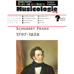 Biographie de Franz Schubert (1797-1828)