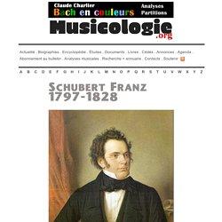 Franz Schubert (1797-1828) - musicologie.org