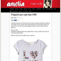 Fräscht och nytt från HM!