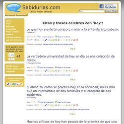 Sabidurias.com