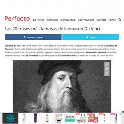 Las 20 frases más famosas de Leonardo Da Vinci