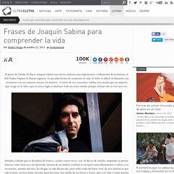 Frases de Joaquín Sabina para comprender la vida