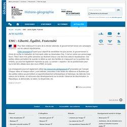 EMC : Liberté, Égalité, Fraternité-Histoire-géographie-Éduscol